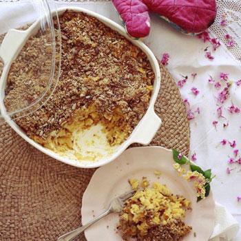 Butternut Macaroni Bake