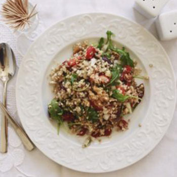 Mediterranean Summer Grains Salad