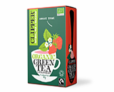 Clipper Organic FT Green Tea with Strawberry 20Teabags