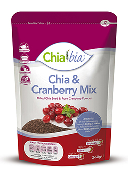 Chia Bia Chia & Cranberry Mix 100g