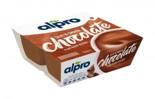 Alpro 4 Tub Dessert Chocolate 4x125g