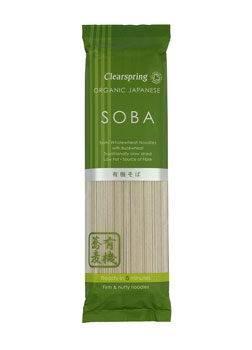 Clearspring Organic Soba Noodles 250g