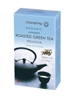 Clearspring Organic Hojicha Rstd Green Tea 20 bags