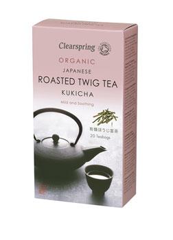 Clearspring Organic Kukicha Rstd Twig Tea 20 bags