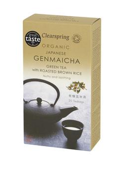 Clearspring Organic Genmaicha Tea 20 bags