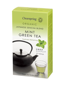 Clearspring Organic Green Mint Tea 20teabags
