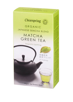 Clearspring Organic Green Matcha Tea 20teabags