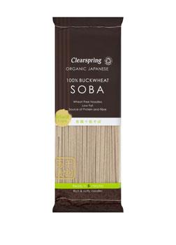 Clearpsring Organic Japanese Skinny Soba Somen 200g