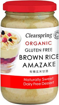Clearspring Organic Sweet Dessert-Brown Rice 380g
