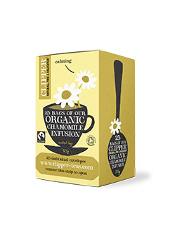 Clipper Organic Chamomile 25 individual envelopes