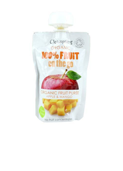 Clearspring Organic FRUIT ON-D-GO APPLE/MANGO 120G