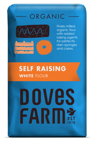Doves Farm Organic Self Raising White Flour 1 kilo