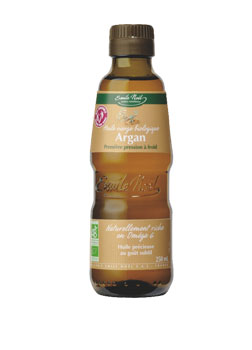 Emile Noel Organic Virgin Argan Oil 250ml