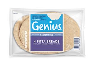 Genius GF Pitta Bread 260g