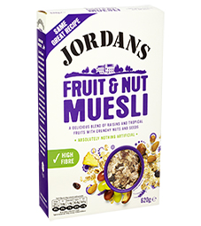 Jordans Muesli Fruit & Nut 750g
