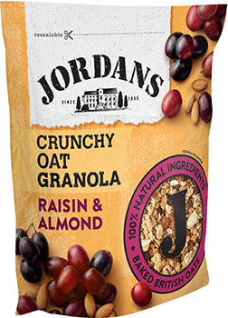 Jordans Crunchy Oats Raisin & Almond 750g