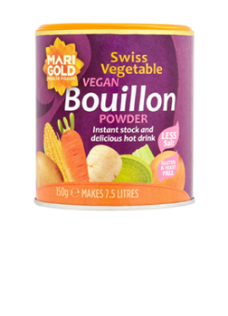Marigold Less Salt Swiss Vegetable Bouillion 150g