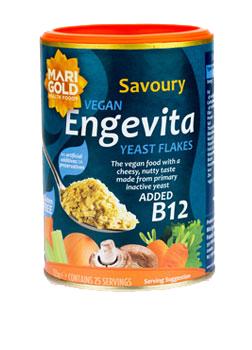 Marigold Engevita B12 Yeast Flakes 125g