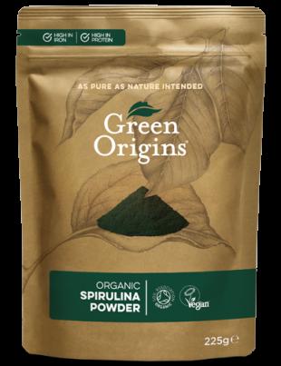 Green Origins Organic Spirulina 225g