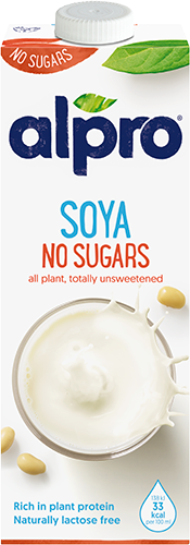 Alpro Soya Milk No Sugar 1L