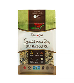 Floating Leaf Sprouted Brown Rice, Split Pea & Quinoa 400g