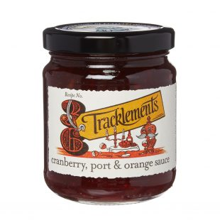 Tracklements Cranberry Sauce with Port 250g
