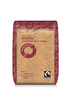 Traidcraft FT Unrefined Demerara Sugar 500g