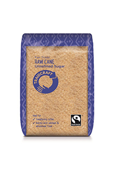 Traidcraft FT Unrefined Raw Cane Sugar 500g