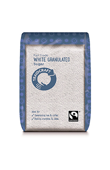 Traidcraft FT White Granulated Sugar 500g