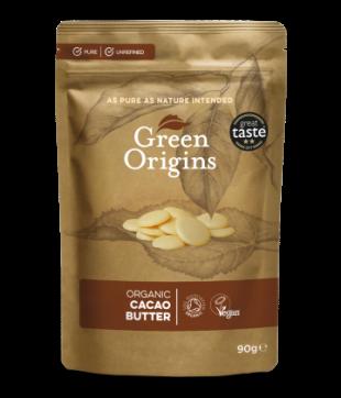 Green Origins Organic Cacao Butter 90g