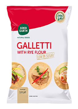 Good Earth Rye Galletti 120g