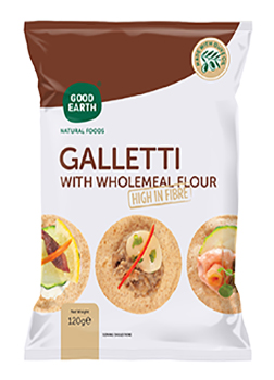 Good Earth Wholemeal Galletti 120g