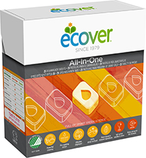 Ecover All-in-One 25 Dishwasher Tabs