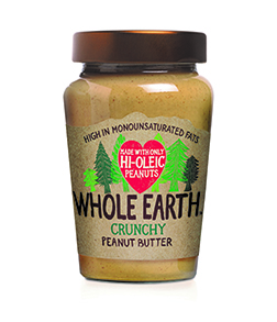 Whole Earth Hi Oleic Crunchy Peanut Butter 340g
