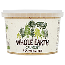 Whole Earth Crunchy Peanut Butter No Added Sugar 1kg