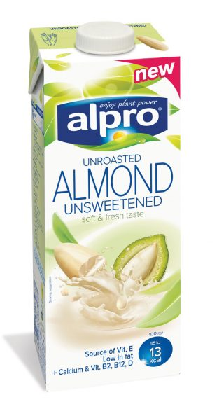 Alpro Almond Unroasted & Unsweetened 1L