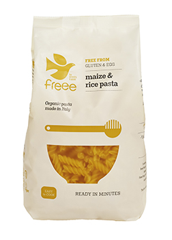 Freee by Doves Farm Gluten Free Organic Maize & Rice Fusilli 500g