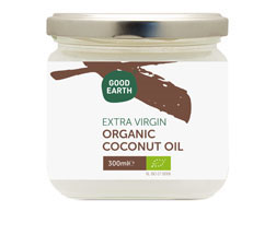 Good Earth Organic Extra Virgin Coconut Oil 300ml