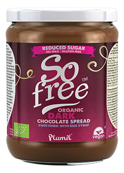So Free Reduced Sugar Organic Dark Chocolate Spread 275g