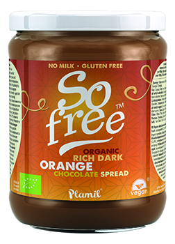 So Free Organic Rich Dark Orange Chocolate Spread 275g
