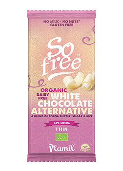 So Free Organic White Chocolate Alternative 70g