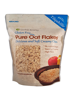 Global Bounty Gluten Free Pure Oat Flakes