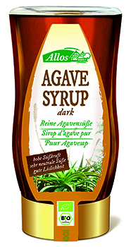 Allos Organic Dark Agave Syrup 250ml