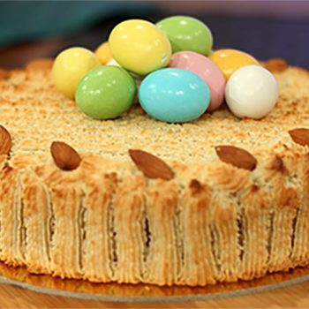 TV Chef Manuel Aquilina's Easter Almond Torte