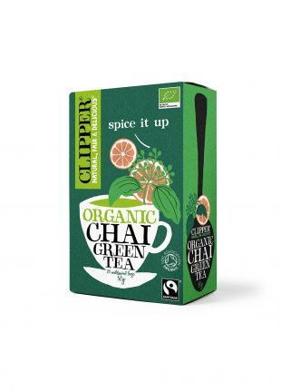 Clipper Organic FT Green Chai Tea 20Teabags