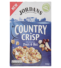 Jordans Country Crisp Fruit & Nut 500g