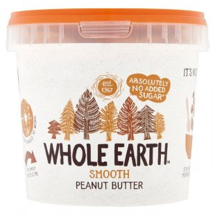 Whole Earth Smooth Peanut Butter No Added Sugar 1kg