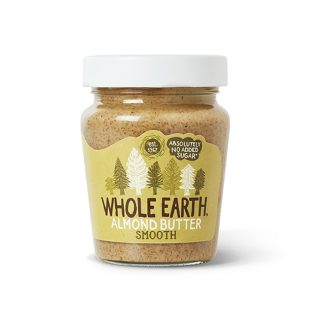 Whole Earth Smooth Almond Butter No Added Sugar 227g