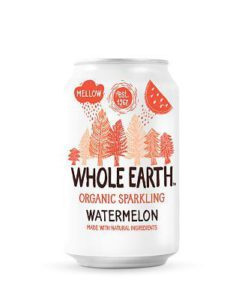 Whole Earth Organic Sparkling Watermelon Drink 330ml