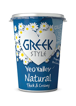 Yeo Valley Organic Greek Style Natural Yogurt 450g